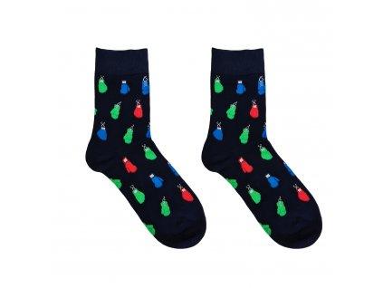 Pánské ponožky Aura.Via - FC6767, tmavě modrá/rukavice