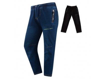 Chlapecké riflové kalhoty , tepláky