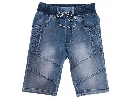 Chlapecké riflové 3/4 kalhoty - KUGO YZ8003, vel.134-164