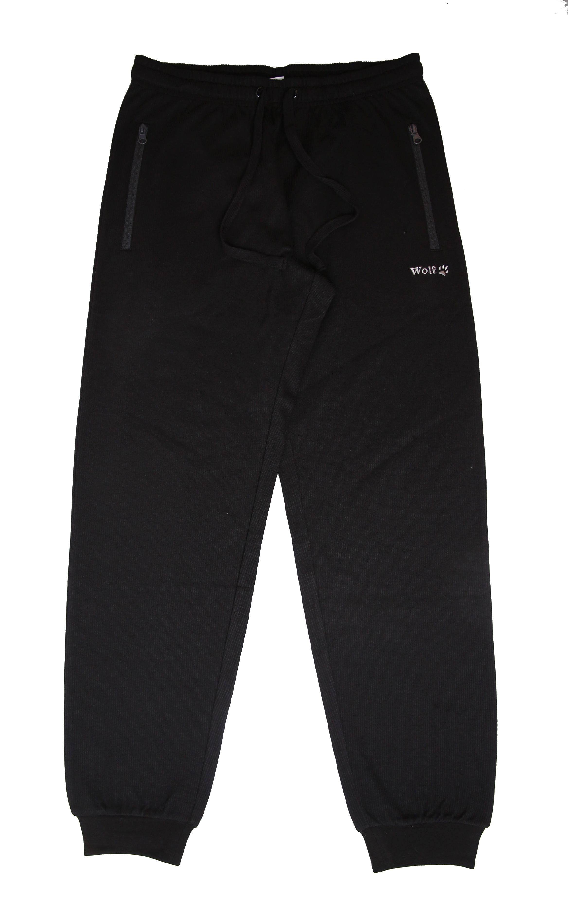 Pánské tepláky - Wolf T2175C, černá Barva: Černá, Velikost: L
