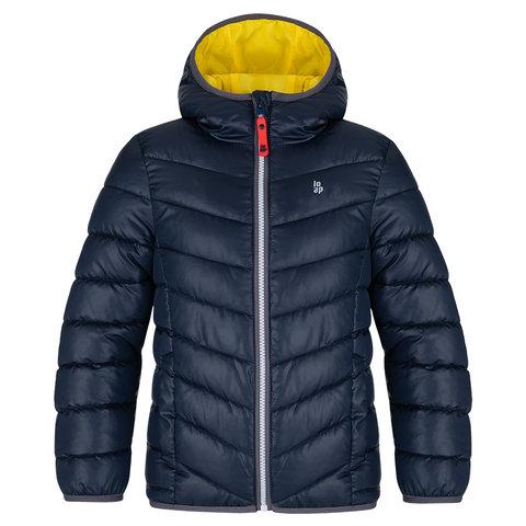 Chlapecká zimní bunda - Loap Ingaro, tmavě modrá Barva: Modrá, Velikost: 158-164