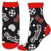 Dívčí ponožky - Kouzelná Beruška Miraculous 34, černá