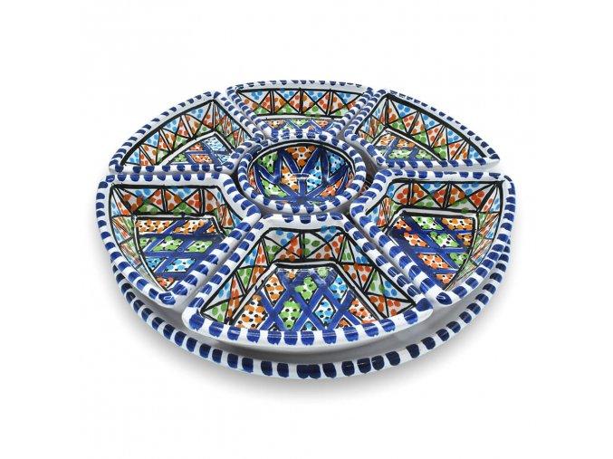 Kulatá ochutnávková miska IRIS   23 cm