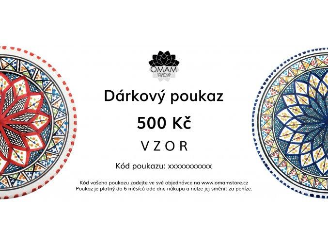 darkovy poukaz 500 VZOR2