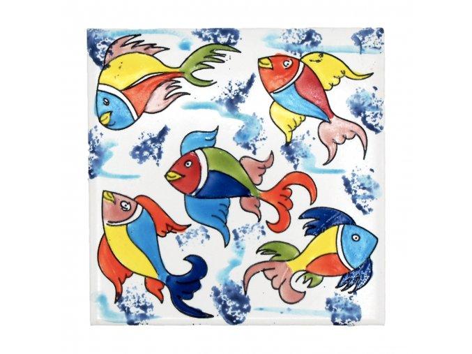 obklad 15 barevn rybky