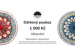 Omamstore Dárkový poukaz1000