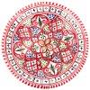 Mělký talíř DELPHI | 24 cm