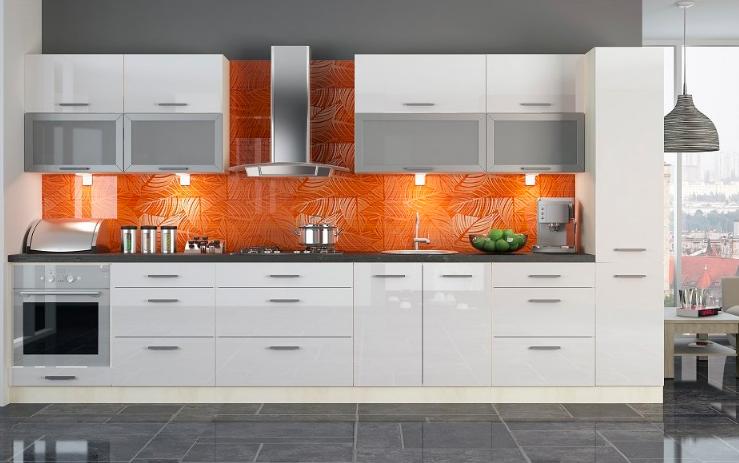 Prakticky zariadené kuchyne pre tých, čo milujú poriadok