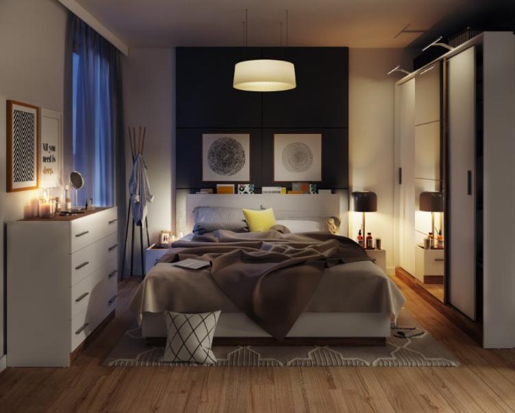 Aj malá spálňa vie urobiť veľký dojem: 6 inšpirácií