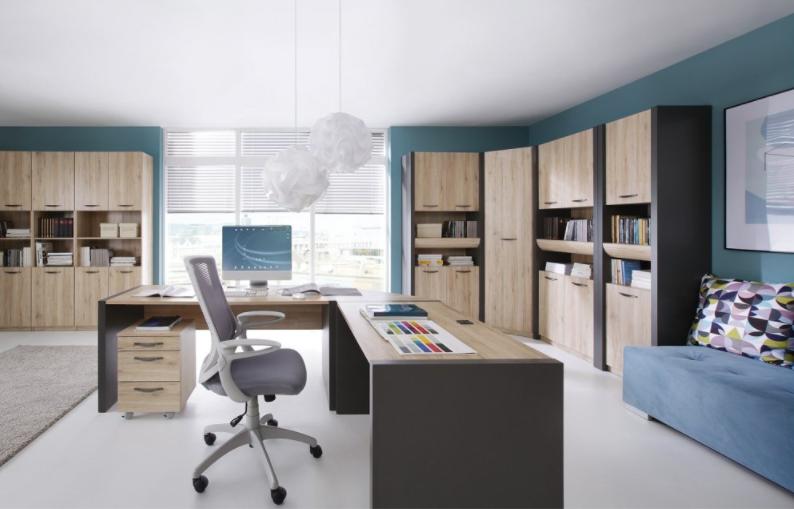 Domáca kancelária, v ktorej je radosť pracovať: 4 praktické rady