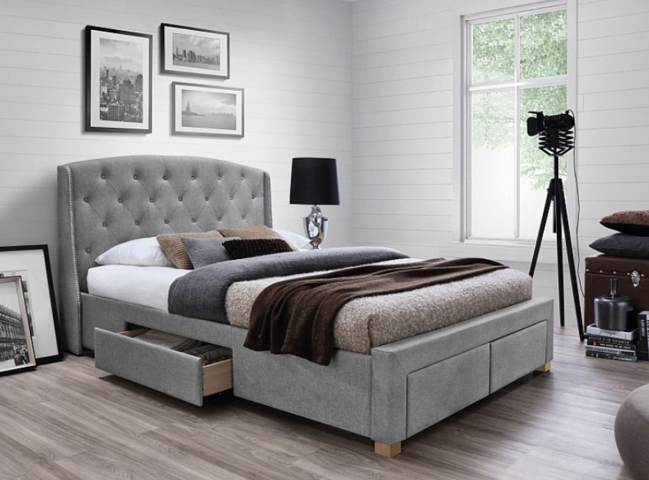 Postele s úložným priestorom šetria miesto v spálni: 4 inšpirácie