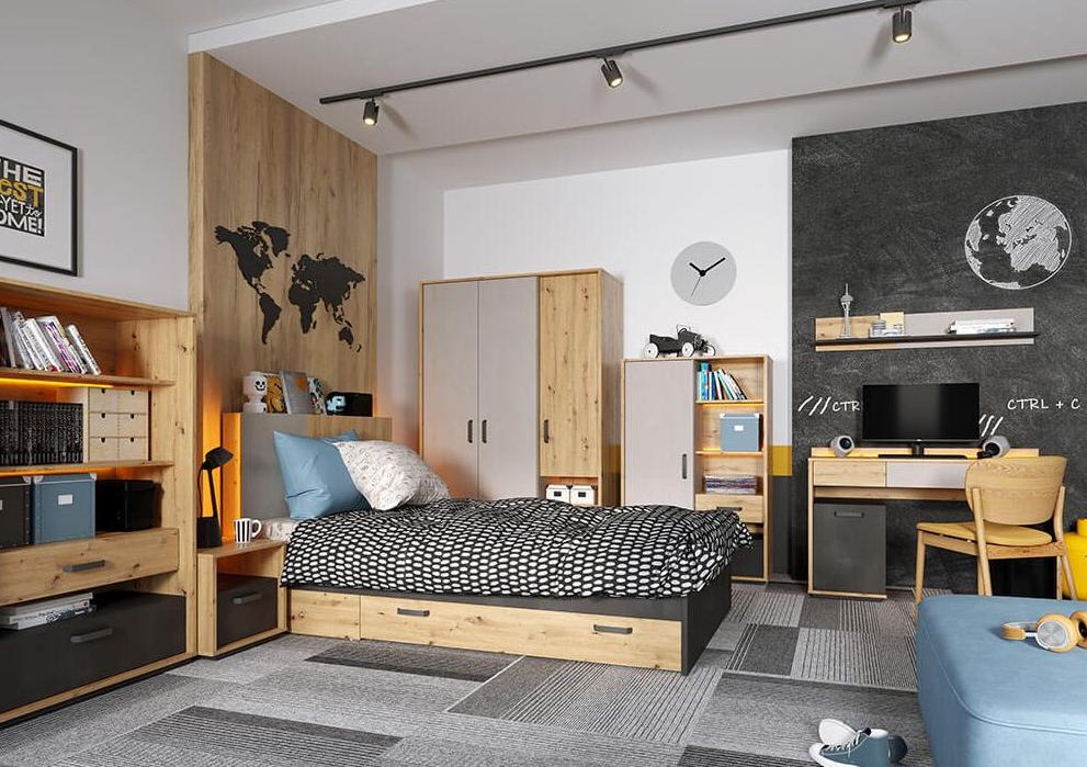 Moderná a funkčná izba pre teenegera: 5 inšpirácií