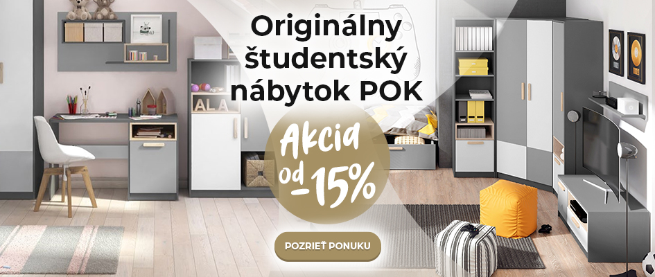 Originálny študentský nábytok POK