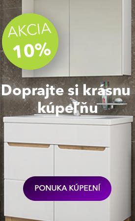 Zľava 10 % na kúpeľne COM