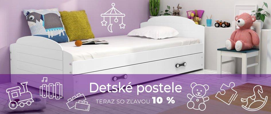 Detské postele so zľavou 10 %