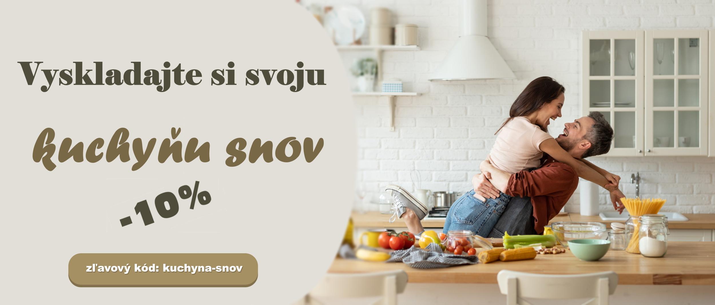 Vyskladajte si svoju kuchyňu snov