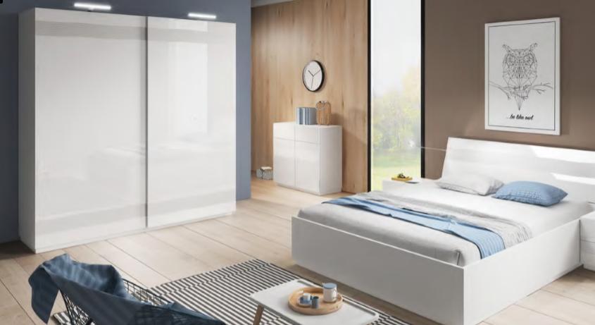 Sektorový nábytok Alabaster / spálňa