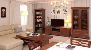 Rustikálny sektorový nábytok