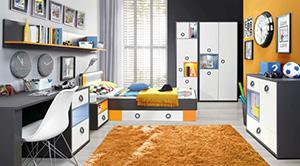 Sektorový nábytok pre deti