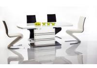Jedálenské stoly s vysokým leskom