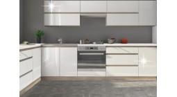 Kuchyňa Line - biely lesk