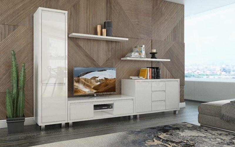 Sektorový nábytok Nordic bianco