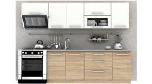 Kuchyňa Nova Plus - dub sonoma/biela