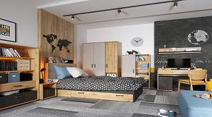 Sektorový nábytok Qubic