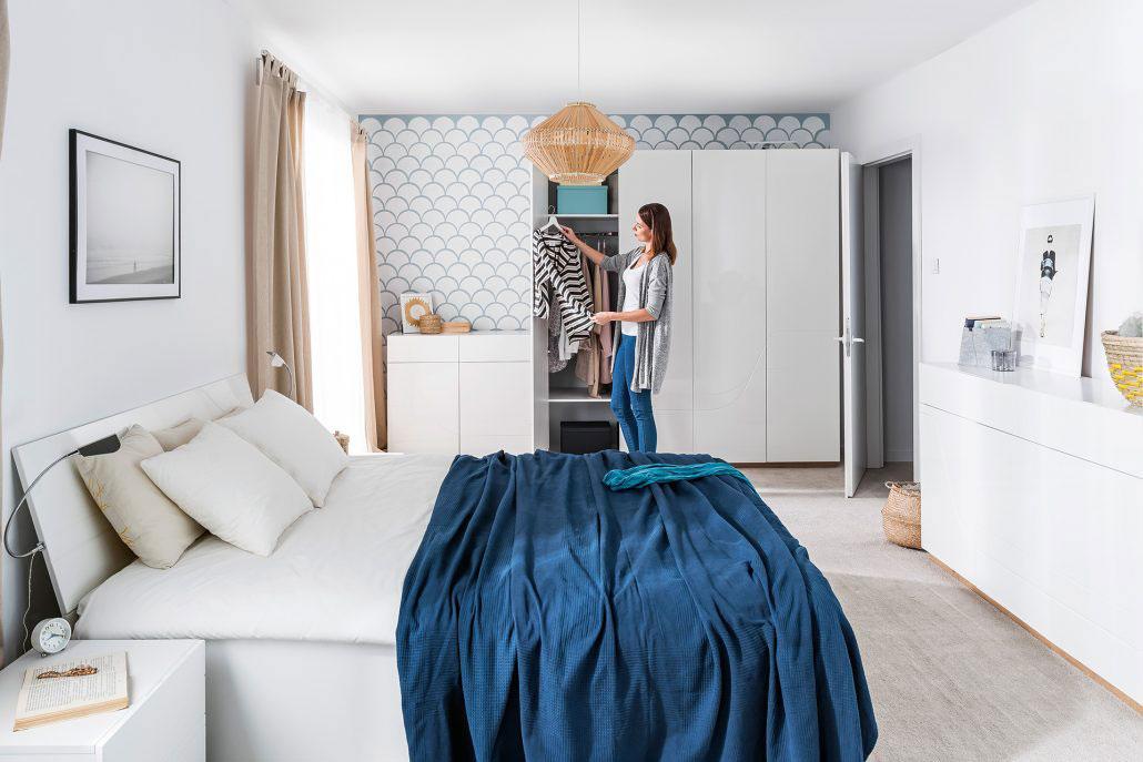 Sektorový nábytok Wave / spálňa