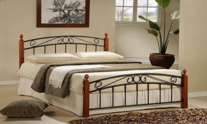 kovova postel Dolores
