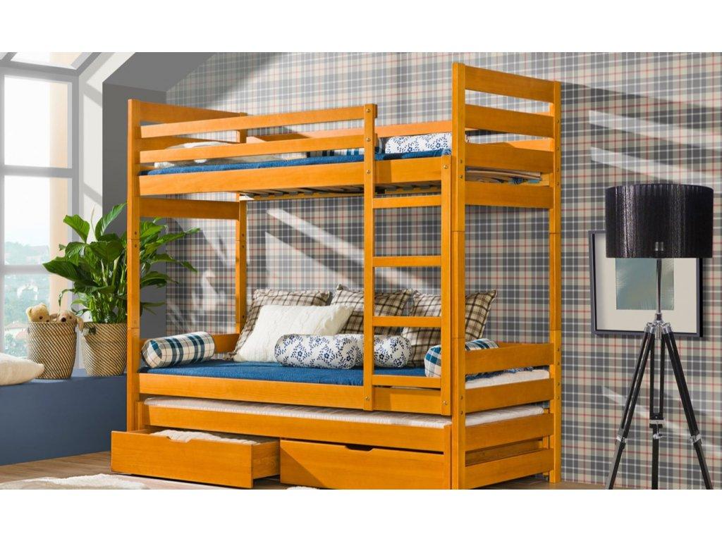 93ba735e3be8 Krásna detská poschodová posteľ Filip - omega-nabytok.sk