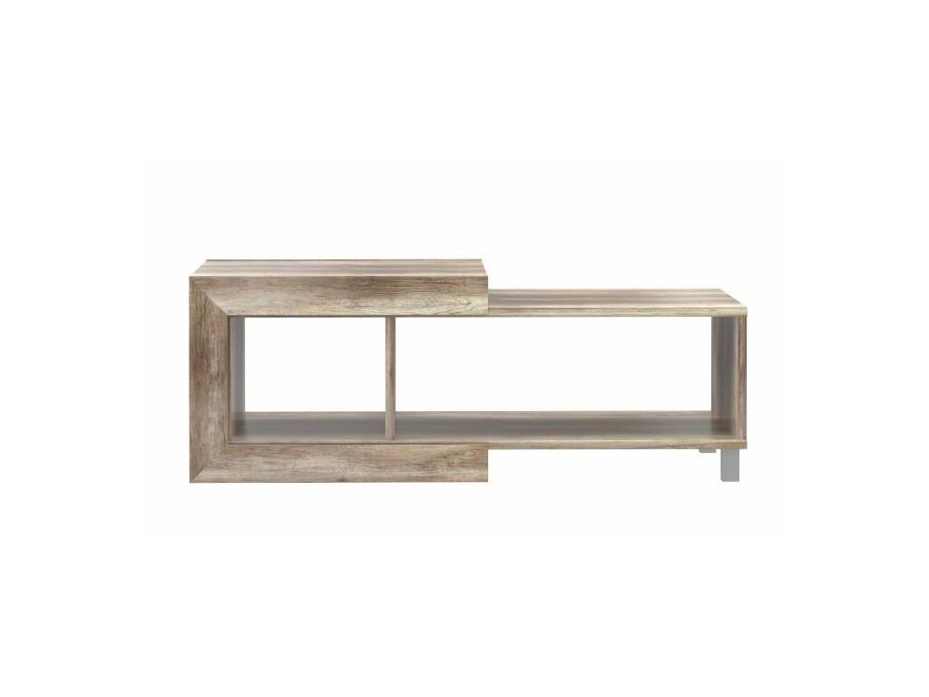 98eacb2987da6 TV stolík/skrinka, dub anticky / béžová lesk HG, GATIK 131 na predaj |  Omega-nabytok.sk