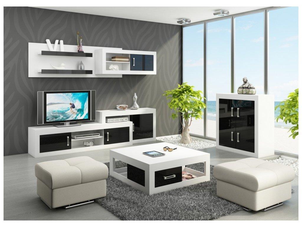 Obývacia stena Verin 1 WIP