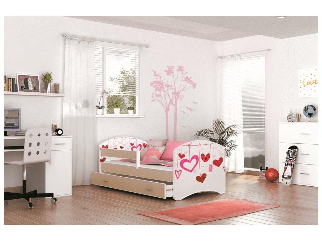 Detská posteľ LUCKY 140x80