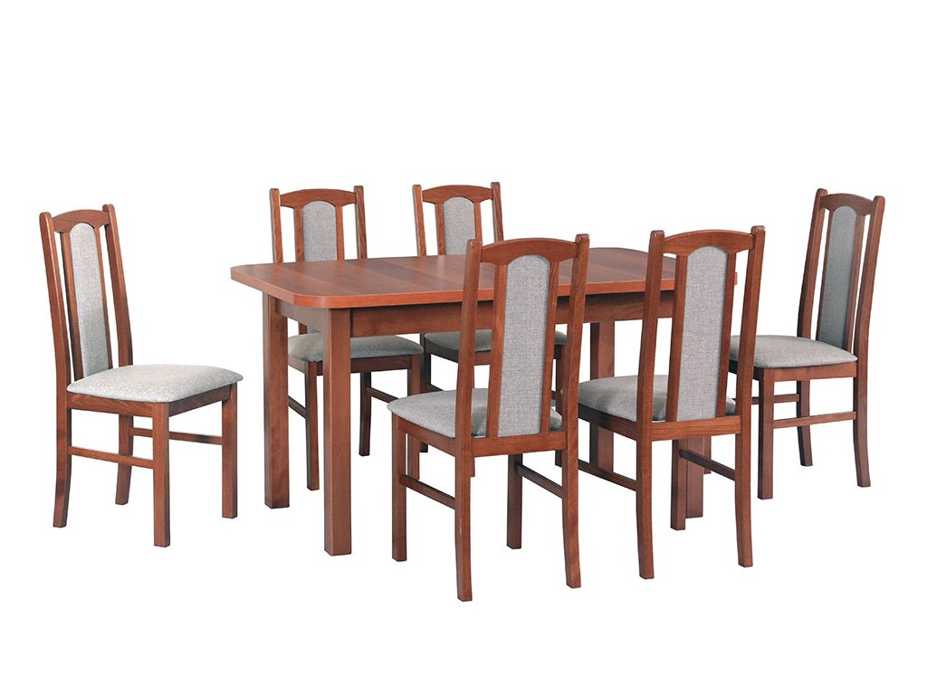 4f63d20ab6f44 Jedálenský set - stôl WENUS II L / stoličky BOSS VII (1+6) na predaj ...