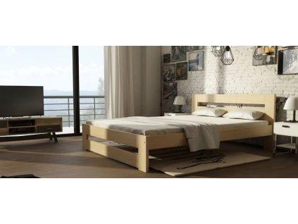 Drevená posteľ Marika