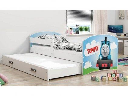 Detská posteľ Luki biela 9