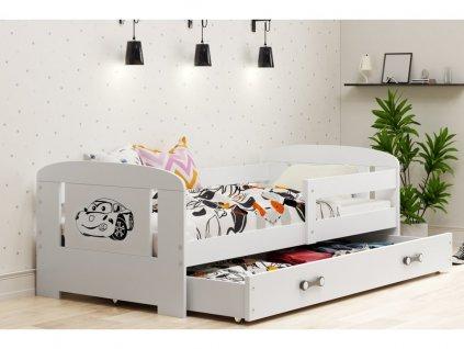168153 postel filip biela autko