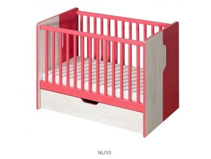 Detská postieľka Nuki NU10