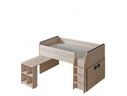 Detská vyvýšená posteľ G15