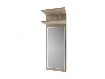 Panel so zrkadlom 45, dub san remo, ORESTES
