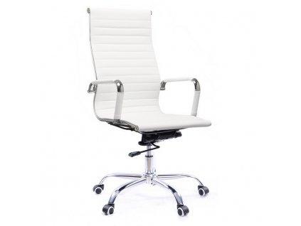 Kancelárske kreslo, biela, AZURE NEW