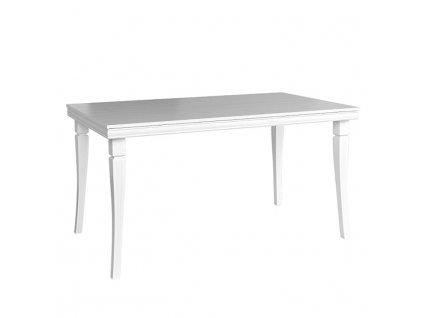 Jedálenský stôl, rozkladací, sosna andersen, KORA