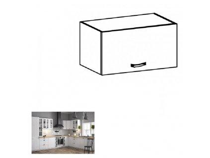 Horná skrinka G60KN, biela/sosna andersen, PROVANCE