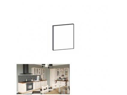 Dvierka na umývačku riadu, 59,6x57, sosna nordická,ROYAL