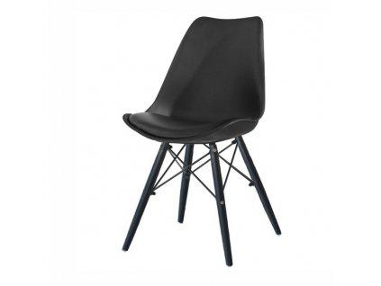 Stolička, čierna, KEMAL