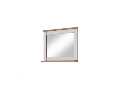 Zrkadlo s policou, sosna andersen biela/dub riviera, KEIT SL80