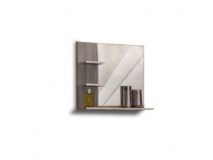 Zrkadlo, dub sonoma trufel, OLIVIA LUTR 14