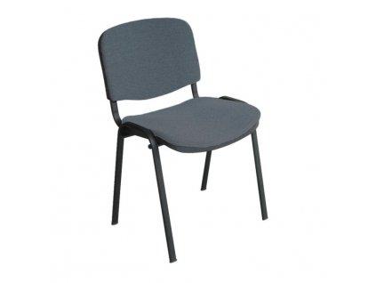 Kancelárska stolička, sivá, ISO NEW