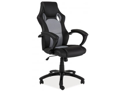 Kancelárske kreslo Q-107 (Farba Sivá/čierna)